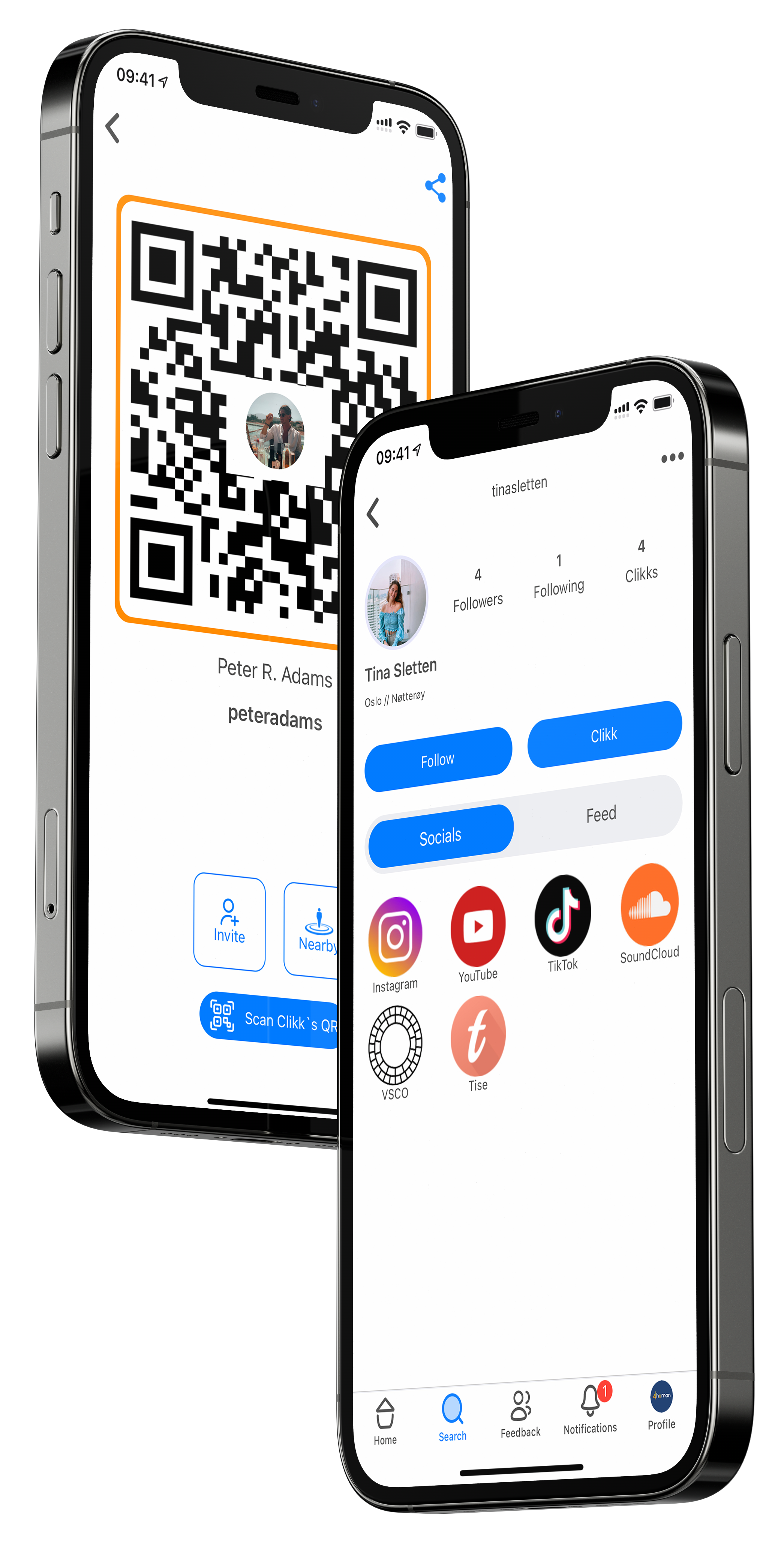 CK mockups iphone12pro mobiles qrcode profile
