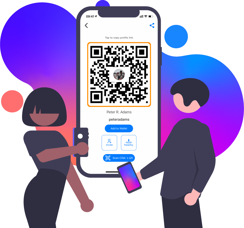 Clikk QR-Code connect Infographic 2