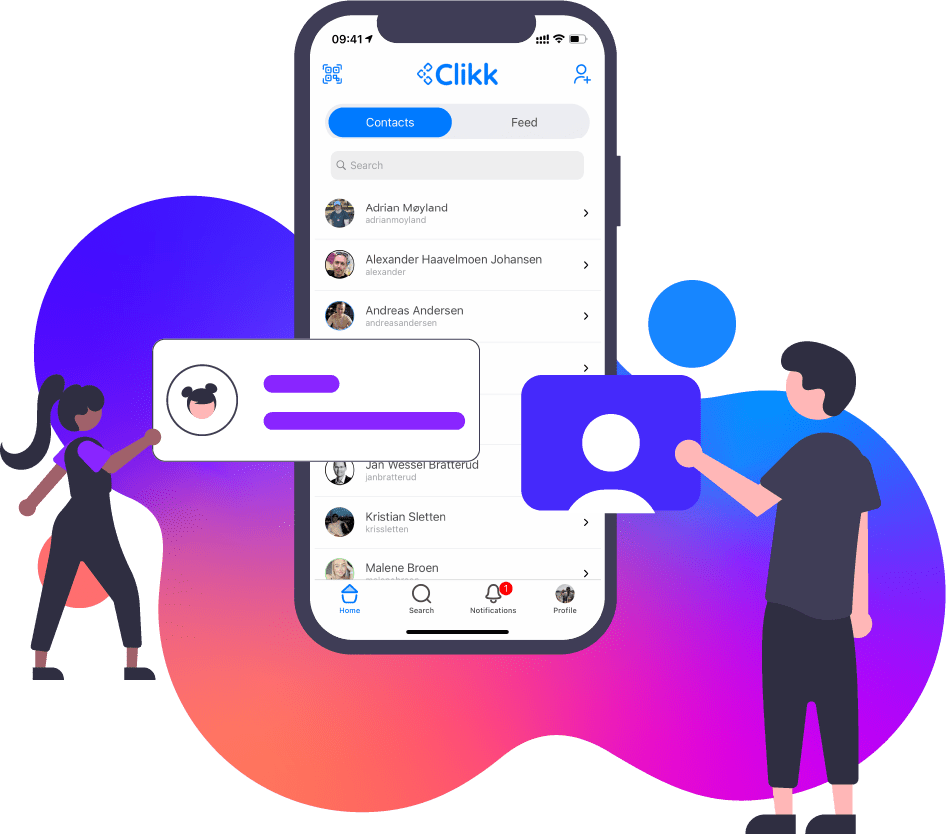 Clikk Contact list Infographic 2
